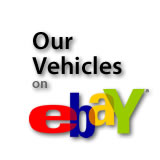Our Vehicles on eBay